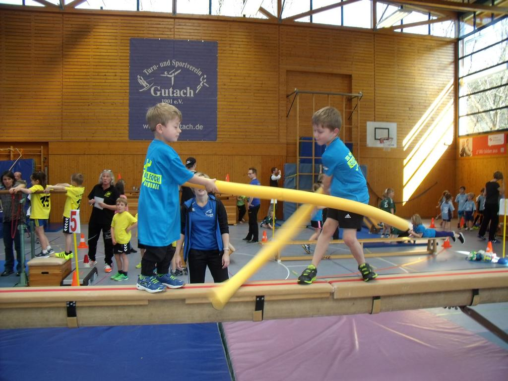 200 Kinder bei den Minispielfesten der SG Gutach/Wolfach