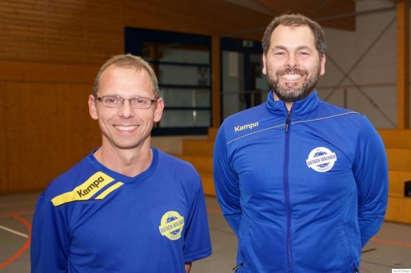 HB SG Gutach Wolfach- Trainer Martin Woehrle-Oliver Kronewitter-71612bay